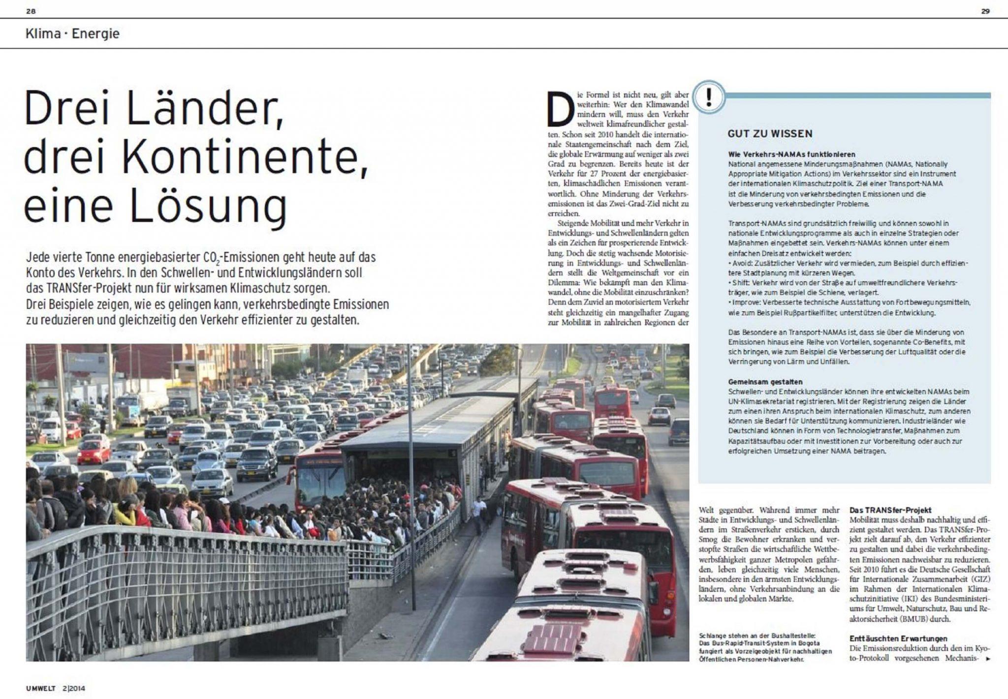 cover_dreilaenderdreikontinenteeineloesung 1jpg changing transport - Entwicklungslander Beispiele